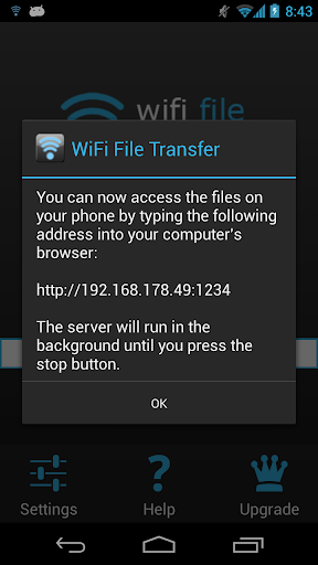 Foto do WiFi File Transfer
