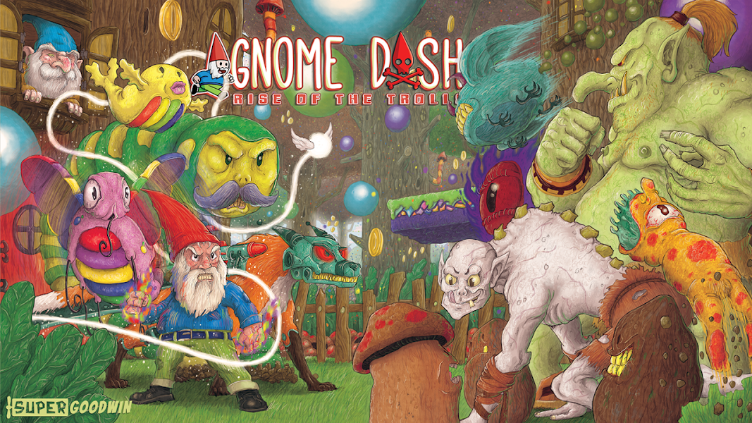 Gnome Dash: Rise Of The Trolls