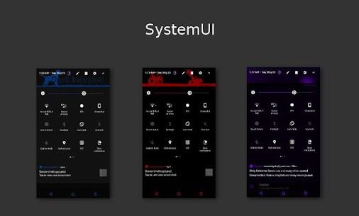Dark Infusion Substratum Theme for N, O and Pie v20.5 [Patched] 2