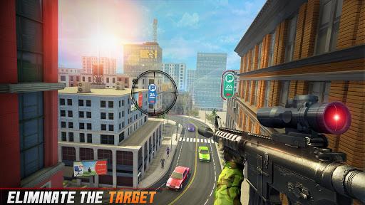 Sniper 3D Shooting Strike Mission: New Sniper Game apklade screenshots 2
