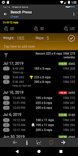 GymACE: Workout Tracker for Strength Training