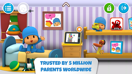 Pocoyo House: best videos and apps for kids apktreat screenshots 1
