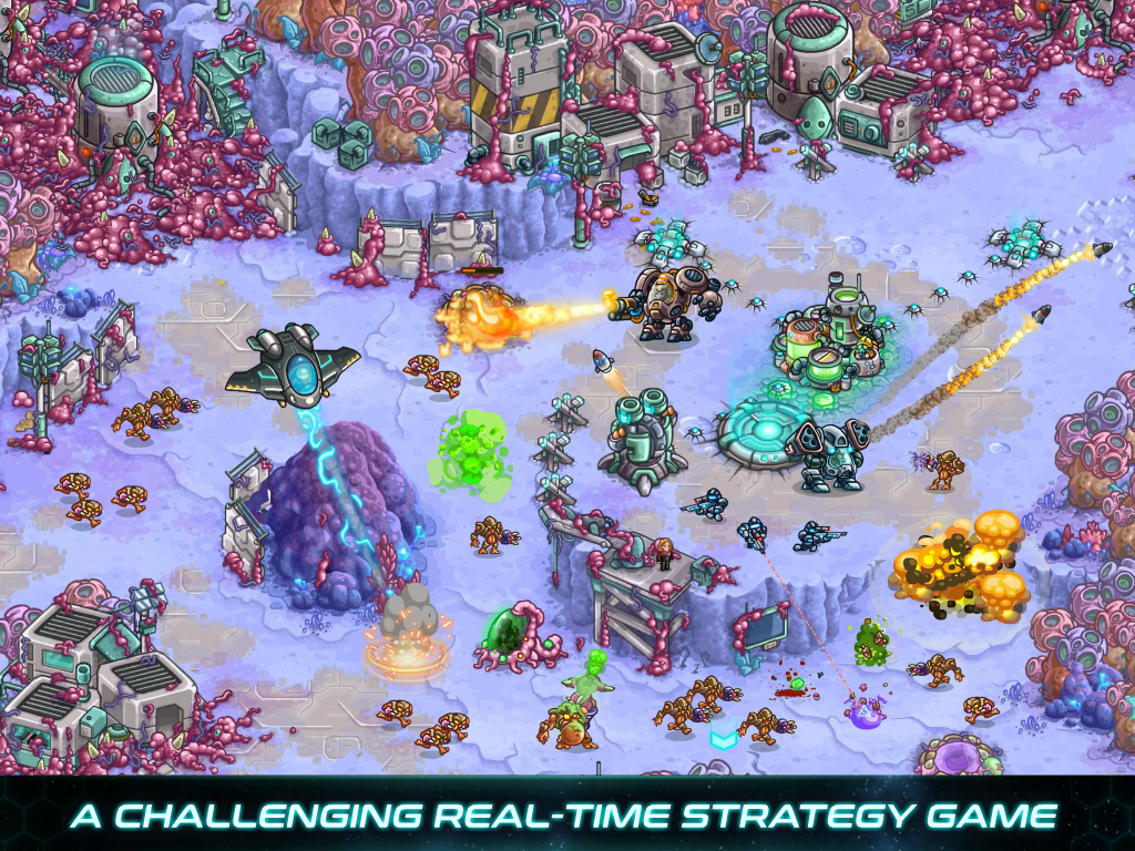 Iron Marines: RTS Offline Real Time Strategy Game  poster 7