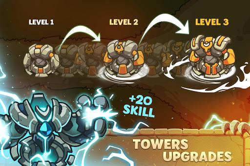 Empire Warriors: Tower Defense TD Strategy Games  screenshots 2