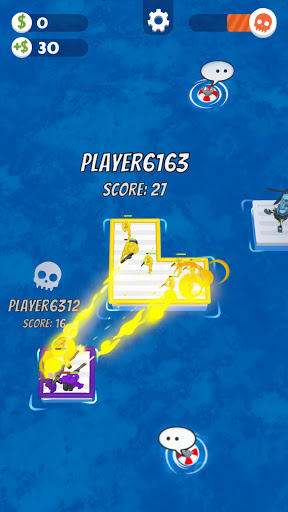 War of Rafts: Crazy Sea Battle  screenshots 8