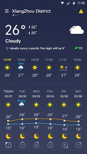 Weather Forecast - live weather radar  screenshots 1