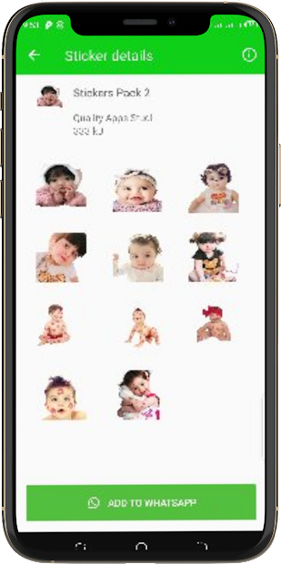 Funny Babies Stickers/Funny Stickers/Baby Stickers screenshot 3