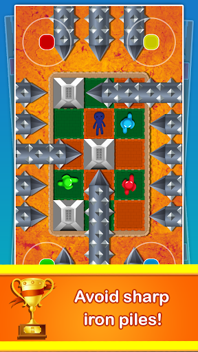 Stickman Cartoon Survival : 1 - 4 Players screenshots 3