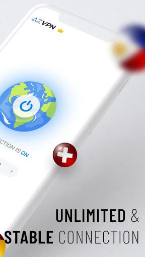 Az VPN Free Unlimited Proxy, Private VPN Master  screenshots 2
