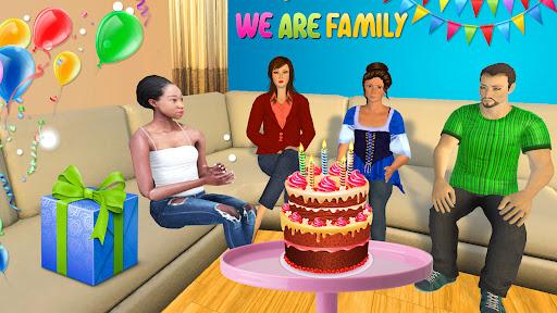 Code Triche Mom Newspaper Girl : Jeux de famille virtuels  APK MOD (Astuce) screenshots 1