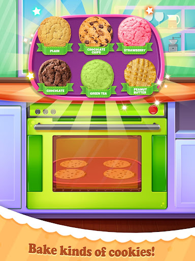 Sweet Cookies Maker - The Best Desserts Snacks 1.2 screenshots 2
