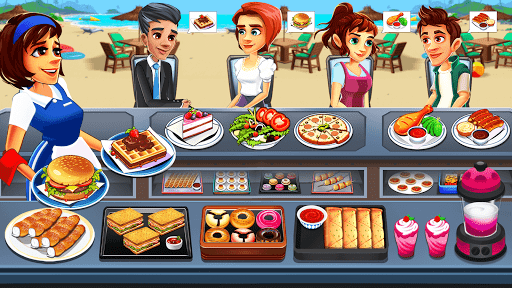Cooking Cafe - Food Chef apkpoly screenshots 1