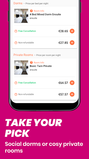 Hostelworld: Hostels & Backpacking Travel App android2mod screenshots 3