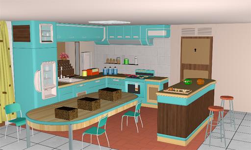 3D Escape Games-Puzzle Kitchen  screenshots 1