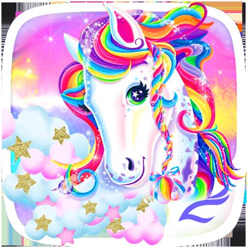 Unicorn Shiny Rainbow Theme Apps On Google Play