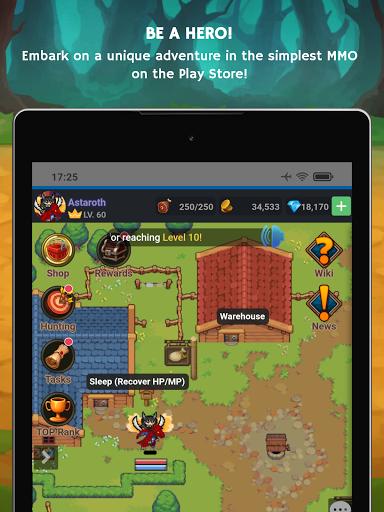 Mana Storia - Simple Browser MMORPG (Beta) 1.3 screenshots 9