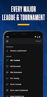 theScore: Live Sports Scores, News, Stats & Videos Screenshot