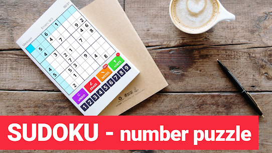 Sudoku Levels 2021 – free classic puzzle game 1