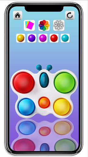 DIY Simple Dimple Pop It Fidget Toys Calming Games  screenshots 7