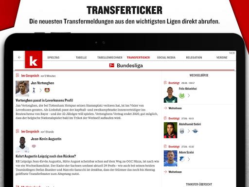 kicker Fußball News  screenshots 16