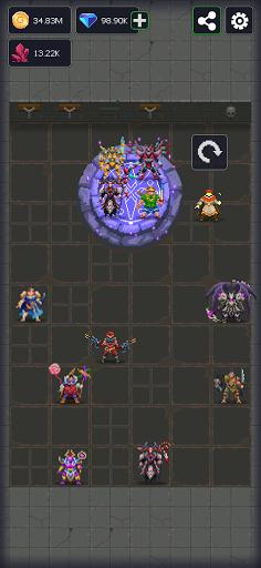 Dunidle: 8-Bit AFK Idle RPG Dungeon Crawler Games apktram screenshots 8