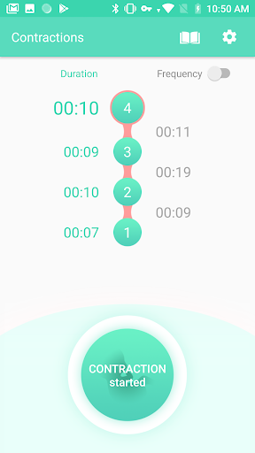 Contraction Timer & Counter 9m 1.3 Screenshots 3