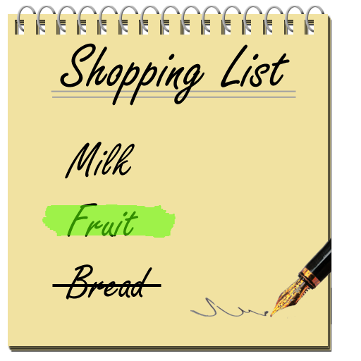 Shopping List For PC Windows (7, 8, 10 and 10x) & Mac Computer