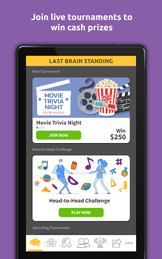 Last Brain Standing Live Trivia Tournaments  Screenshots 8