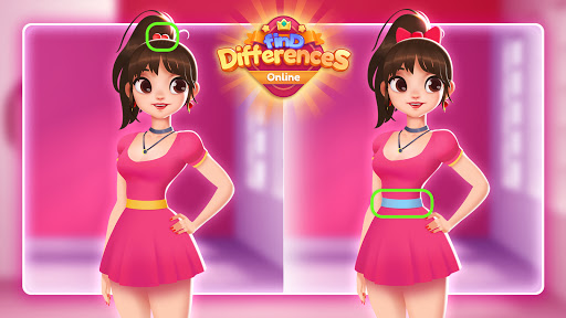 Find Differences Online - 5 Differences apktreat screenshots 1