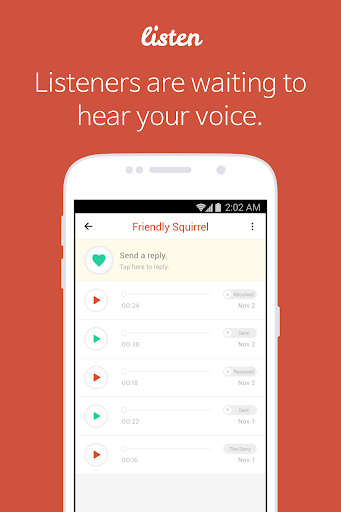 Listen - Free Voice Chat Rooms 3.2.3 screenshots {n} 3