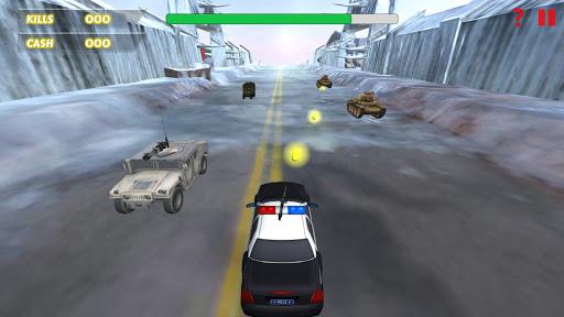 Car Racing Shooting Game  screenshots 4