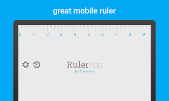 Ruler App – Measure length in inches + centimeters