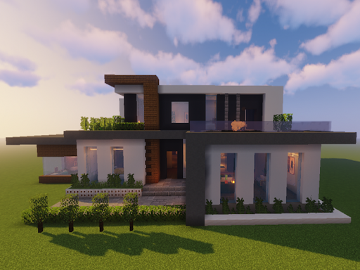 New Modern House for Mineu273fu273fu273fcraft - 500 Top Design 6.7.77 Screenshots 11