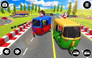 Modern Rickshaw Game: Auto Car Games