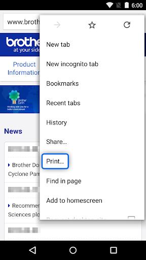 brother print service plugin screenshot 2