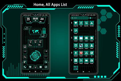 High Style Launcher 2021 - App Lock, Hide App 37.0 Screenshots 3