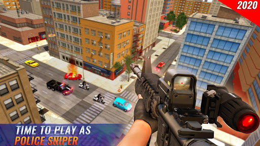 US Police Bike 2020 - Gangster Chase Simulator 3.0 Screenshots 12