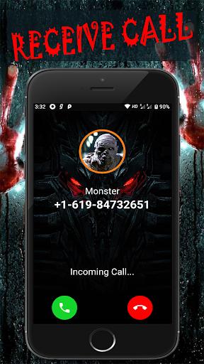 Scary Talk : Fake video call and chat prank  screenshots 2