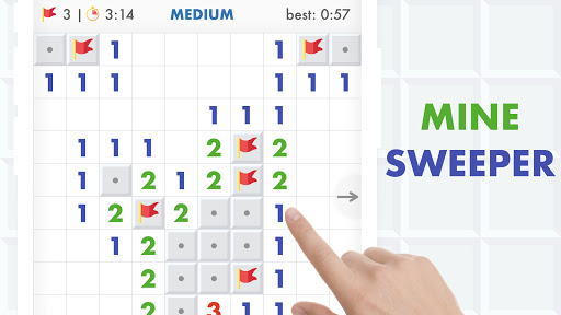 Minesweeper Puzzle Game - Free For Android 4.0 screenshots 9