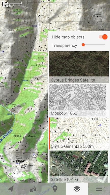 Trekarta - offline maps for outdoor activities  poster 7