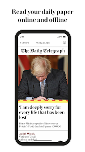 UK & World News – The Telegraph Digital Edition MOD APK 2