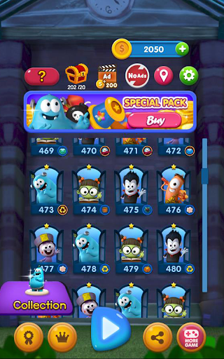 Spookiz Blast : Pop & Blast Puzzle screenshots 24
