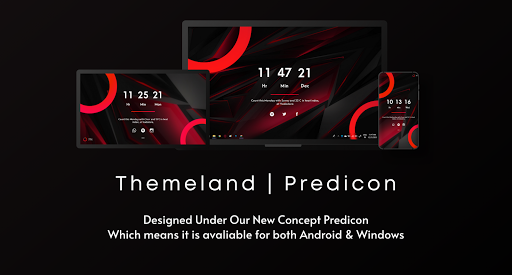 PINE For KWGT & Windows | Themeland screenshot 1