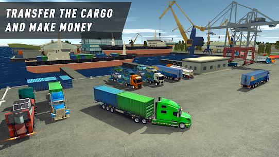 Truck World: Euro & American Tour (Simulator 2020) Mod Apk 1.19707070 (Unlimited Money/Gold) 6