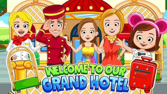 My Town : Hotel For Android [Paid, MOD] 1