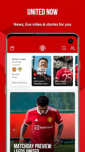 Manchester United Official App apktram screenshots 1