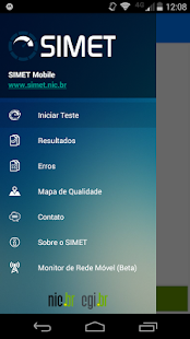 SIMET Mobile Screenshot