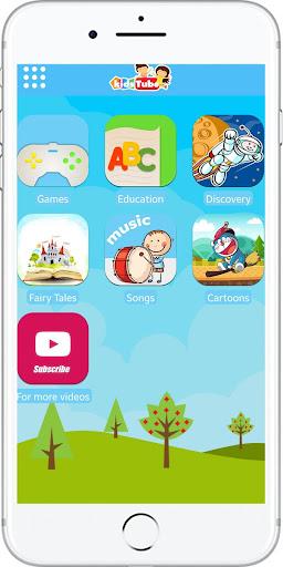 KidsTube - Youtube For Kids And Safe Cartoon Video screenshots 11