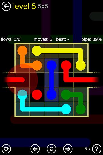 Flow Free: Warps apktram screenshots 6