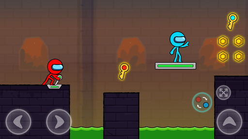 Red and Blue Stickman : Season 2 android2mod screenshots 4